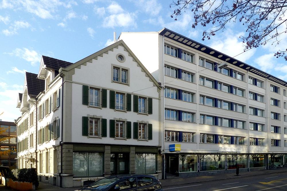 Bâtiment Administration fédérale à Berne.
