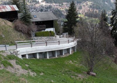 Chemin de Chevillard à Bagnes