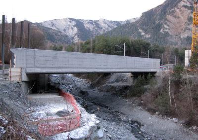 Pont sur le Merdenson à Vollèges